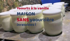 Yaourt Vanille maison sans yaourtière