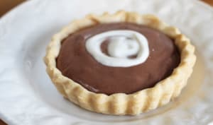 Petite tarte au chocolat