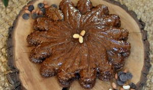 Galette chocolat cacahuète