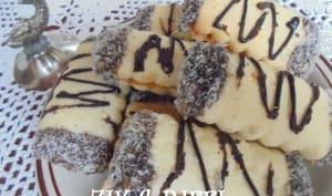 Biscuits fondants rwina et poudre d'amande