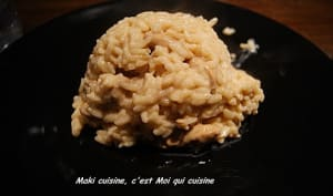 Risotto poulet soja