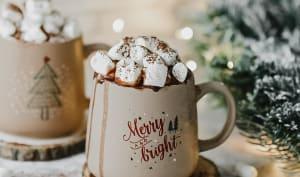 Chocolat chaud vegan épicé