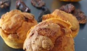 Muffins salé potimarron tomates séchées