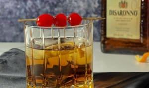 Old fashioned amaretto, bourbon et érable
