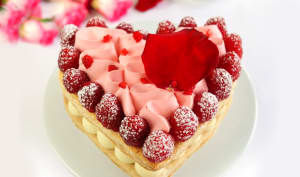Le Coeur Millefeuille Framboise