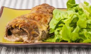 Galettes bretonnes farcies aux cèpes, béchamel au sarrasin