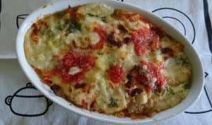 Lasagnes de légumes au pane carasau