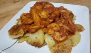 Les paupiettes de veau à la sauce tomate