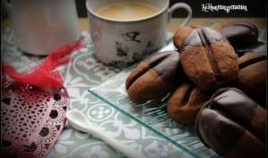 Grains de café au chocolat chocolat
