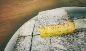 Gâteau rapide et léger aux zestes d'orange