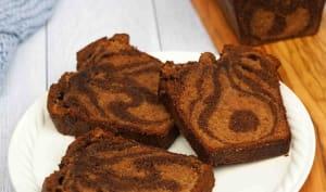 Cake Marbré Double Choco