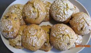 Biscuits moelleux à l'orange et aux pépites de chocolat