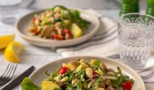 Salade de thon, haricots et pommes de terre à la sicilienne