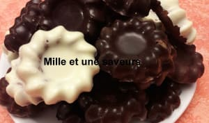 Petite fleur chocolatée