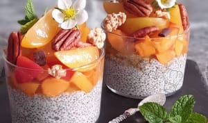 Pudding de Chia Abricot et Prune