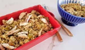 Couscous aux légumes et aux poissons de Pantesco