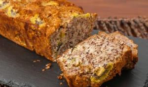 Gâteau du matin aux amandes coco et kiwis