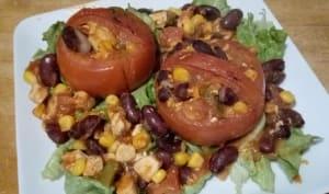 Les paniers de tomates à la mexicaine