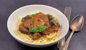 Osso bucco aux aubergines