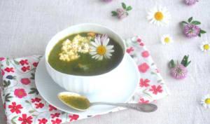 Soupe cresson et patate douce