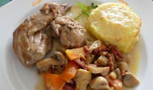 Gigolettes et râbles de lapin au cidre