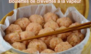 Boulettes de crevette à la vapeur