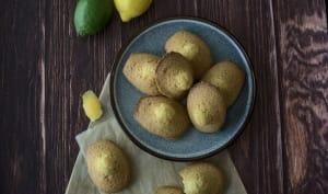 Madeleines aux 2 citrons