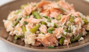 Risotto saumon asperges