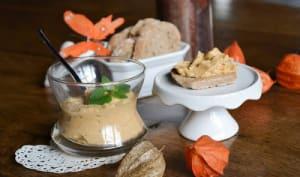 Tartinade de haricots blancs, patates douces au citron et au gingembre