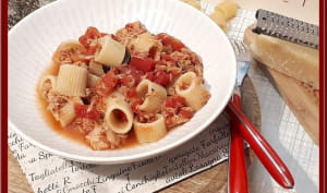 One pot pasta de thon à l'Italienne