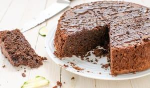 Gâteau au chocolat et à la courgette sans gluten