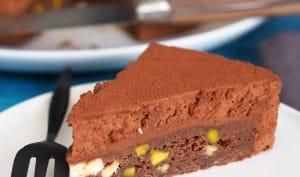 Gâteau au Chocolat et fruits secs
