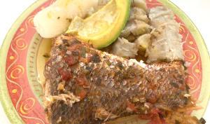 Court-bouillon de poisson à l'antillaise