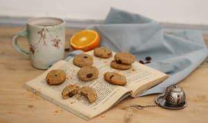 Biscuits semoule, raisins et fleur d'oranger