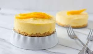 Mini tarte mangue à la crème