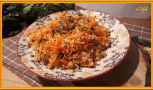 Salade de boulghour et carottes