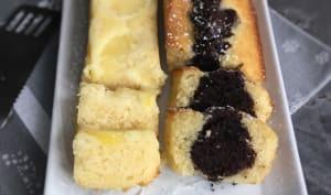 Minis cakes citron et marbré