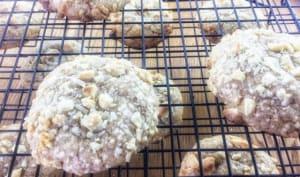 Cookies noisettes chocolat blanc