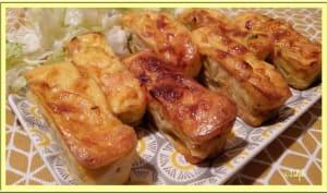 Bouchées poireaux et saumon fumé