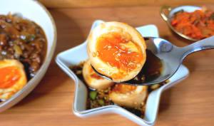 Mayak Eggs- oeufs en marinade sucrée-salée à la Coréenne