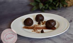 Choux glacage rocher ~ chocolat caramel tonka