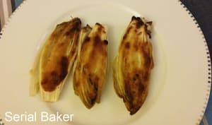 Endives rôties au beurre miso