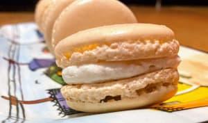 Macarons au chocolat blanc