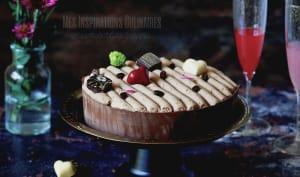 Gâteau Brownie au chocolat et café