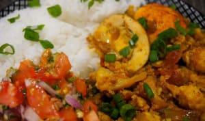 Curry d'œuf Mauricien