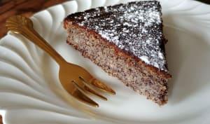 Gâteau pavot noisettes sans farine