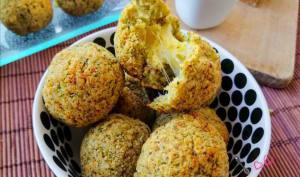 Croquettes de brocoli au fromage coulant