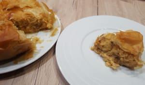 Tourte filo de chou-fleur au curry