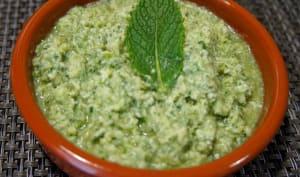Chutney coco mauricien