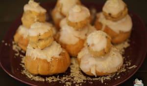 Religieuses à la noix de coco